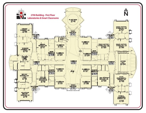 2700 Building Map