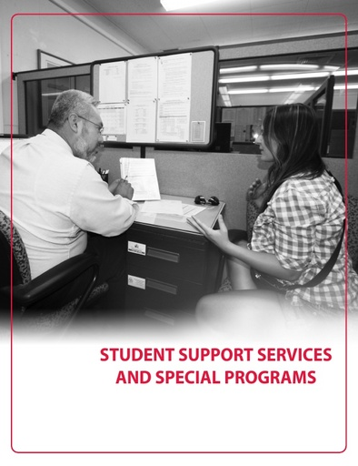 2018-2019 Catalog - Part 03 - Student Support Services and Special Programs