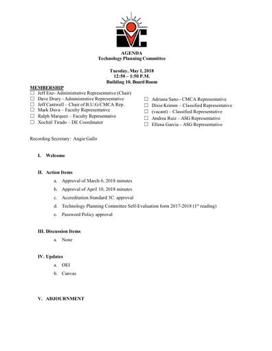 05.01.18 TPC Agenda