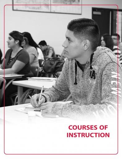 2018-2019 Catalog - Part 08 - Courses of Instruction