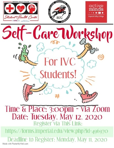 Student Self Care Flyer Updated 050720